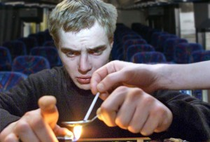 Junkies On Bus To Dublin Probably Visiting A Museum Or Something