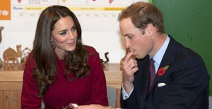 William And Kate Tuck Into Royal Placenta