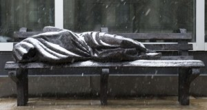 Homelessness Ended After Unveiling Of Homeless Jesus Statue